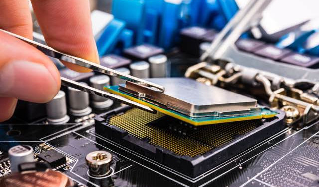 Cleaning a CPU